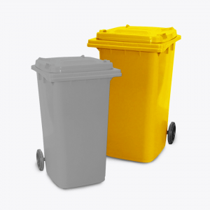 240L Wheelie Bin_yellow