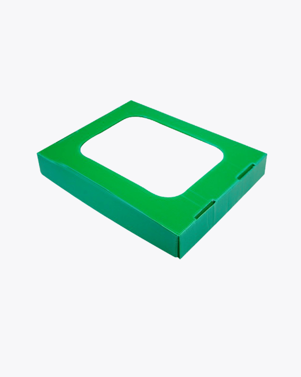 Organic Food Waste Compost Lid with Hole – 25L Green Ecobin