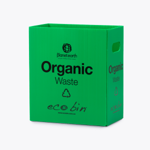 Organic Food Waste Compost Bin – 25L Green Ecobin