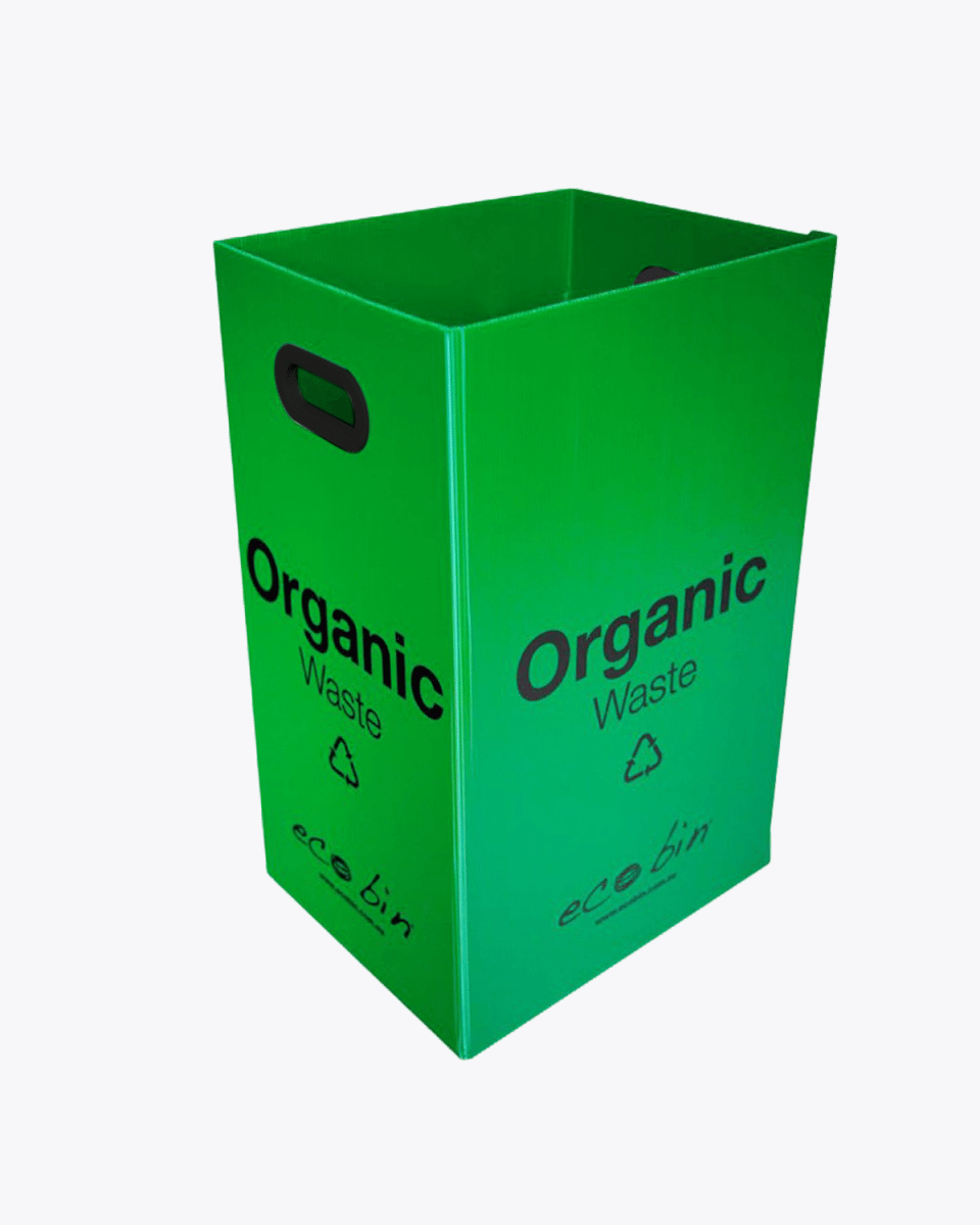 Organic Food Waste Compost Bin – 60L Green Ecobin