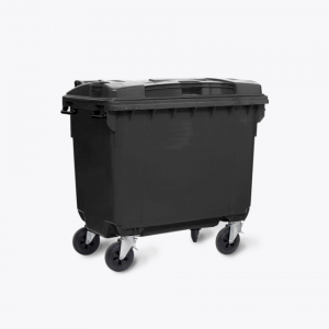 660L Wheelie Bins_black