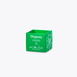 Organic Food Waste Desktop Mini Bin – 1L Green Ecobin