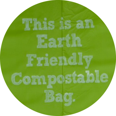 earth friendly compostable bag