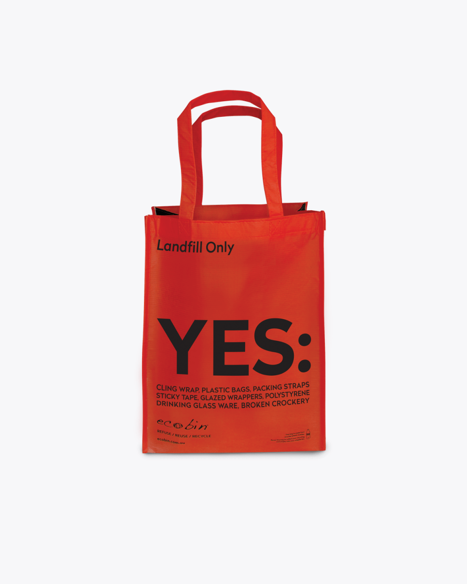 Mixed Recycling & Landfill Portable Waste Bags – Red Ecobin