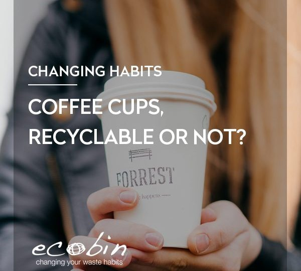 Coffee cups, recyclable or not?