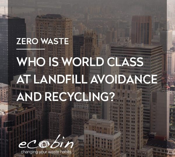 Who is World Class at Landfill Avoidance and Recycling?