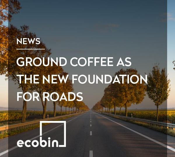 Ground Coffee As The New Foundation For Roads