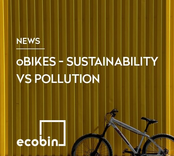 oBikes – Sustainability vs Pollution