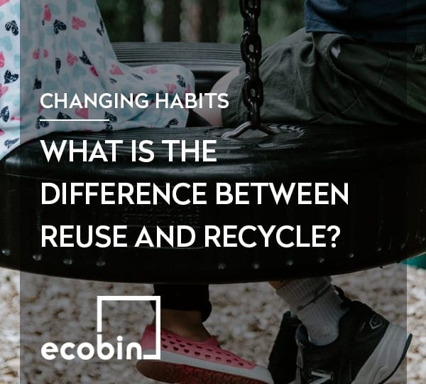 What is the difference between Reuse and Recycle?