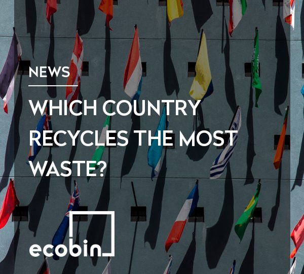 Which country recycles the most waste?