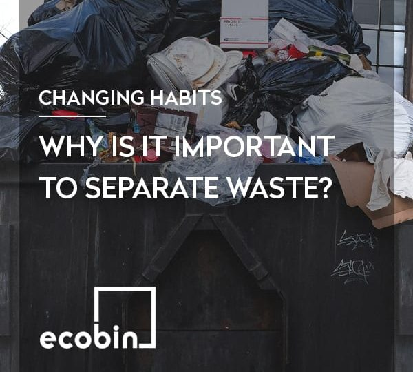Why is it important to separate waste?