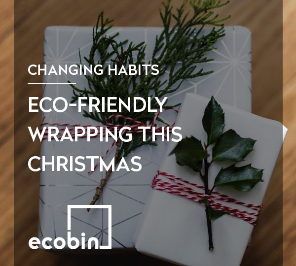 Eco-friendly wrapping this Christmas