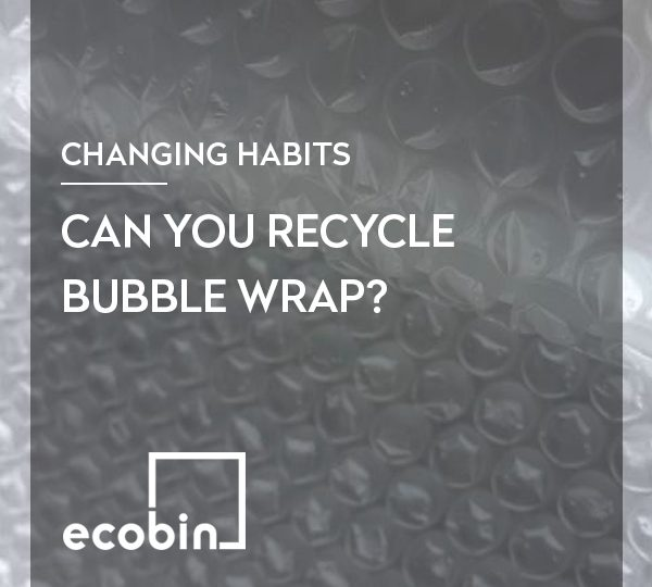 Can you recycle bubble wrap?