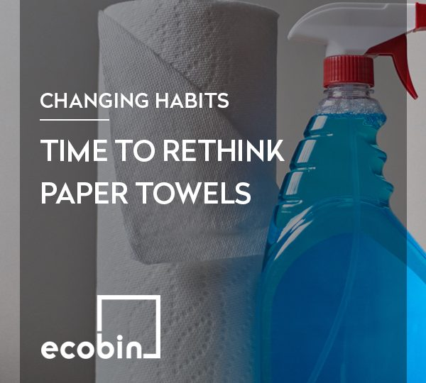 Time to Rethink Paper Towels