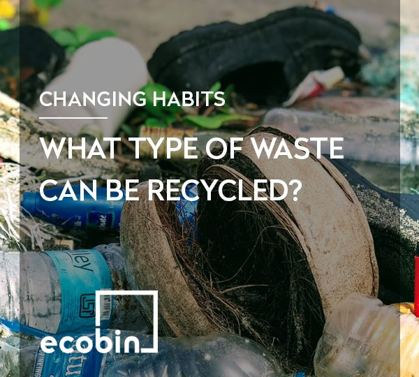 What type of waste can be recycled?