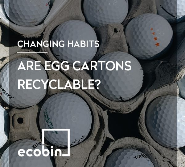 Are egg cartons recyclable?
